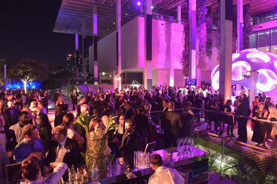 MIAMI, FL - JANUARY 17: A general view of atmosphere at the Perez Art Musem (PAMM) supporters and Miami's philanthropic leaders gather at PAMM Art of the Party Presented by LOUIS VUITTON in support of PAMM's art education programming on January 17, 2015 in Miami, Florida. (Photo by Gustavo Caballero/Getty Images for PAMM)