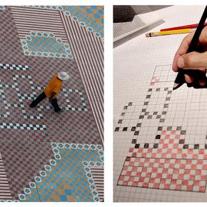 """Ta_patio"", proceso, dibujo, obra permanente en Paseo Chapultepec, Alejandro Fournier, 2009-2011"