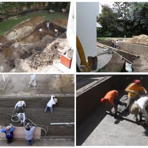 """""""Ta_patio V. Dll"""", Proceso de construcción, Alejandro Fournier, 2012"""