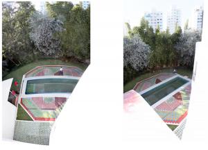 """Ta_patio V. Dll"", Alberca, patio, terraza, alrededor de 50,000 piezas, 180 mts. Cuadrados, Country Club, Alejandro Fournier, 2012"