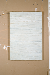 Wall #4b, 2009, 60cm x 91cm, Pintura, yeso, papel montado en panel de madera