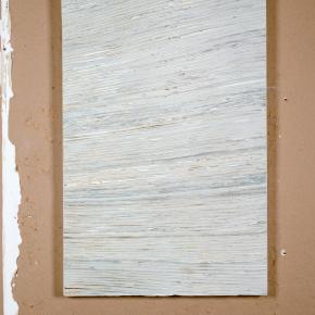 Wall #4c, 2009, 60cm x 91cm, Pintura, yeso, papel montado en panel de madera