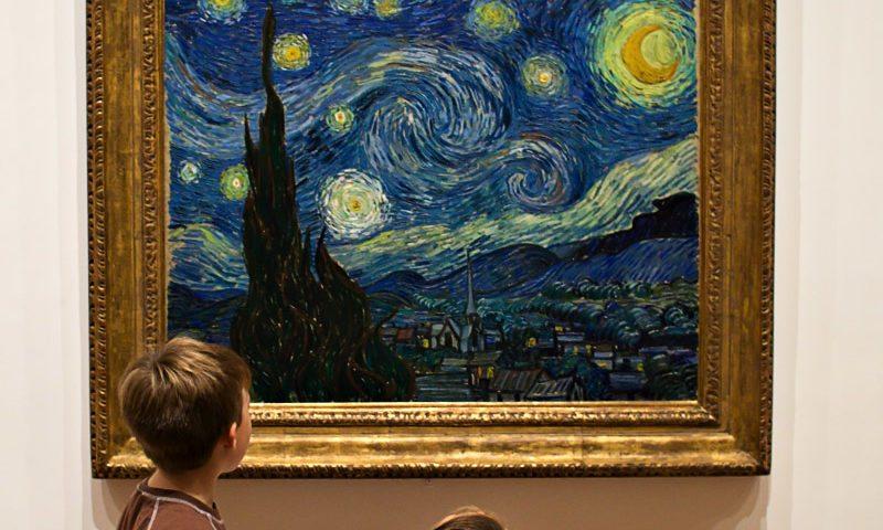 Obra: Noche estrellada Vincent Van Gogh